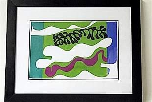 Framed Matisse Lithograph 201EEK