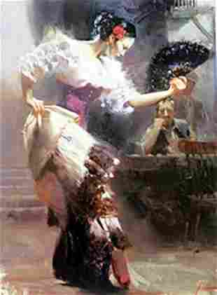 Authentic Giclee on Paper The Dancer Pino