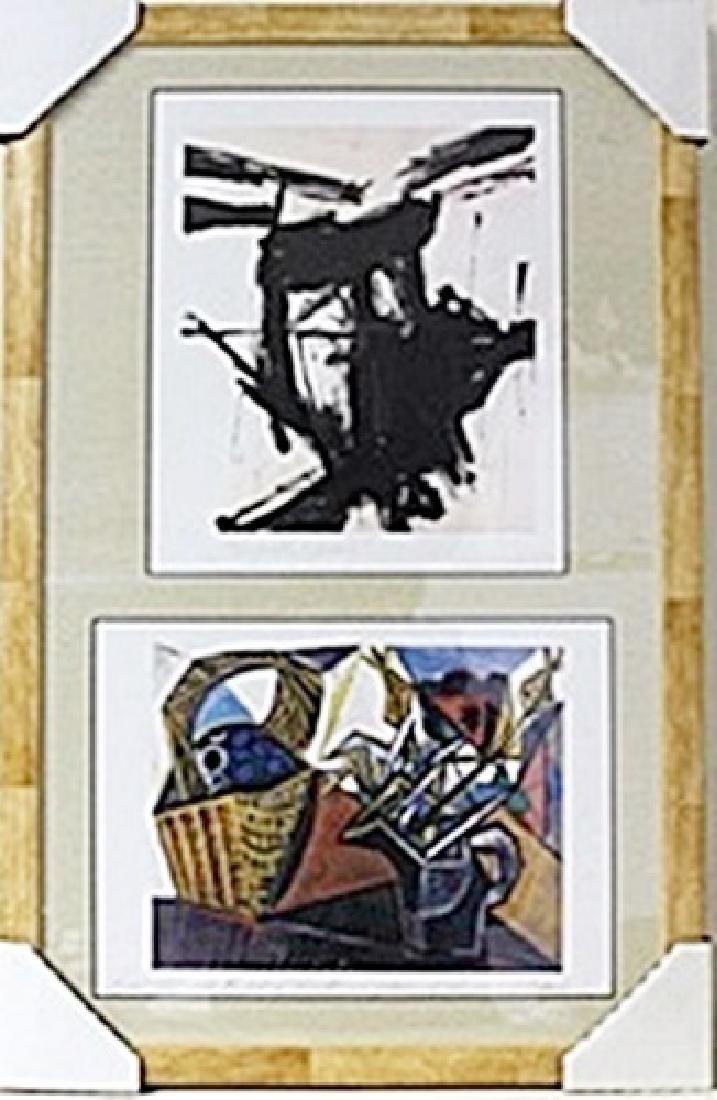 Framed 2-in-1  Lithographs (137E-EK)