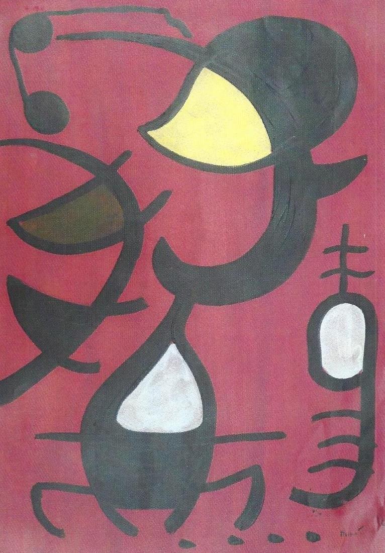 My Birds - Joan Miro - Oil On Paper