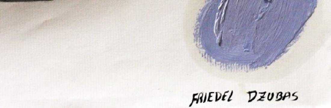 Three Colors - Friedel Dzubas - Oil On Paper - 2