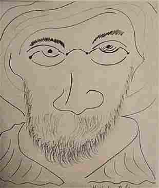Henri Matise Self Portrait