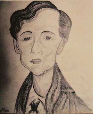 Amedeo Modigliani Portrait Of Camille