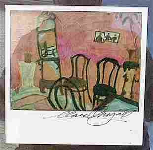 Small Drawing Room Marc Chagall Lithograph