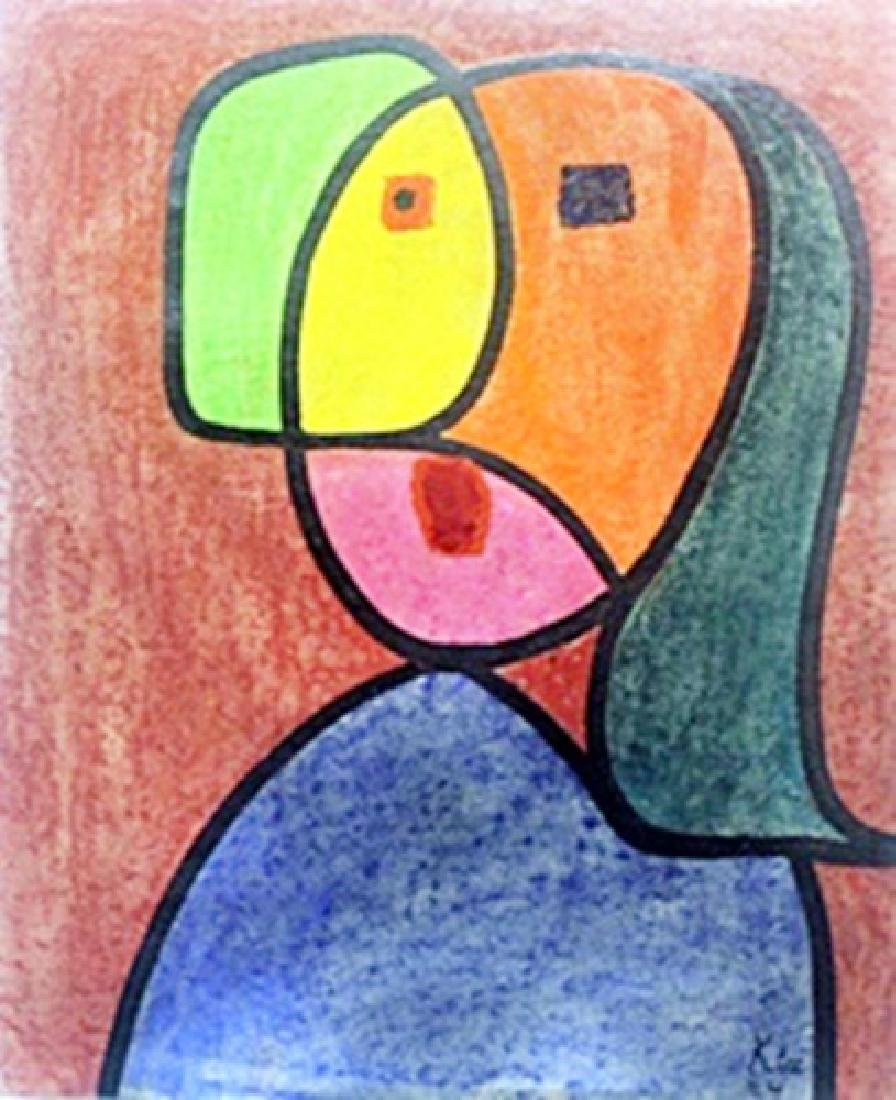 Portrait of a Woman  Paul Klee 1924'