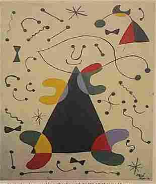 Joan Miro El Nio