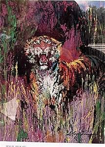 Bengal Tiger - Leroy Neiman - Lithograph