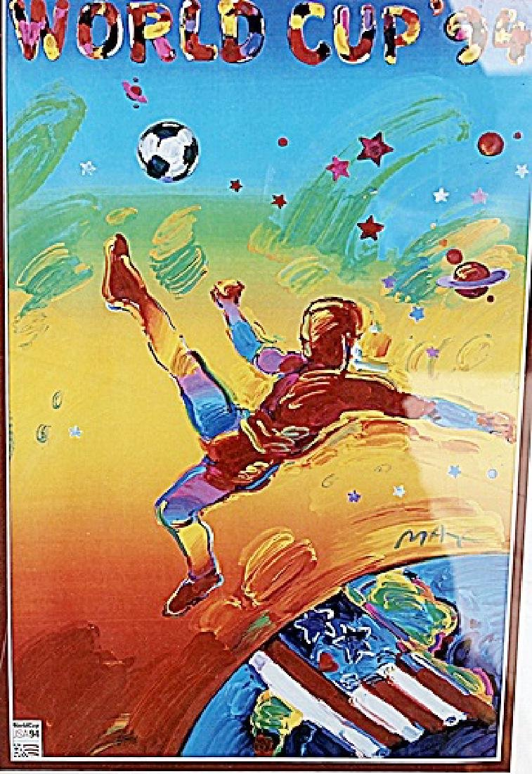1994 World Cup Poster - Peter Max