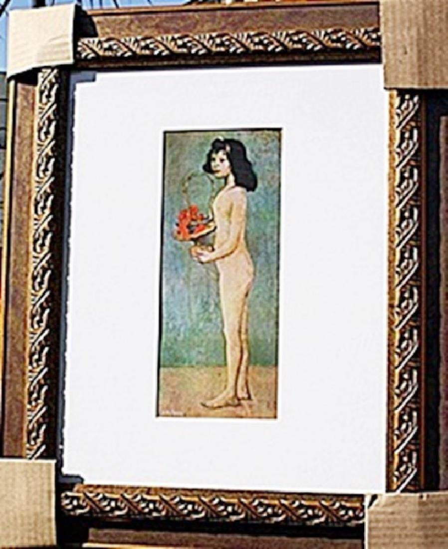 """Authentic """"Girls with Basket of Flowers"""" - Picasso -"""