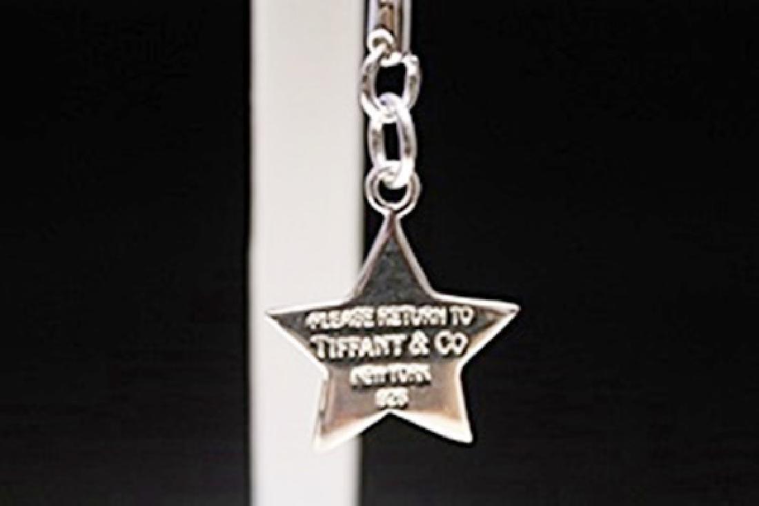 Stunning   Star Silver Keychain