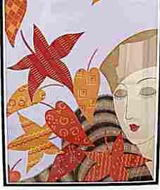 Autumn - Erte - Lithograph