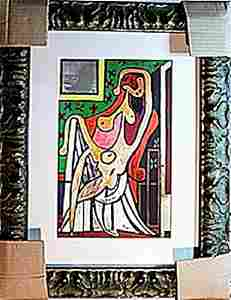 Picasso - Limited Edition - Nude In An Armchair