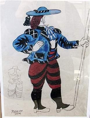 Design For Picador Pablo Picasso Lithograph