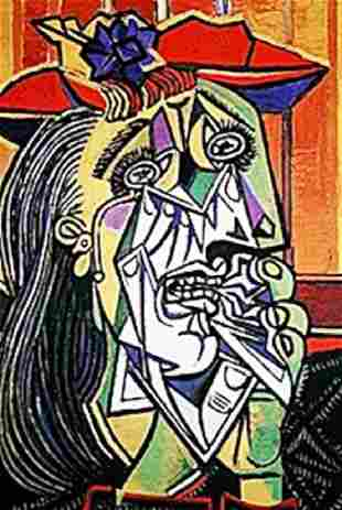 Picasso Limited Edition Woman In Tears from
