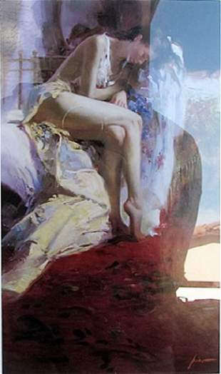 Fanciful Dream Pino Lithograph