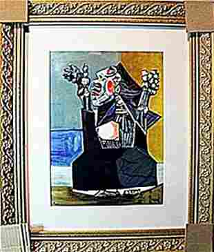 Picasso Limited Edition Suppliant