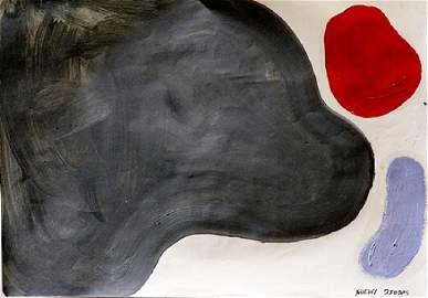 Three Colors - Friedel Dzubas - Oil On Paper