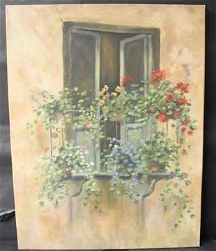 Giclee On Canvas By an UNKNOWN ARTIST N