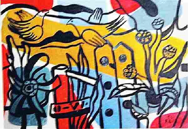 Fernand Leger - The Garden