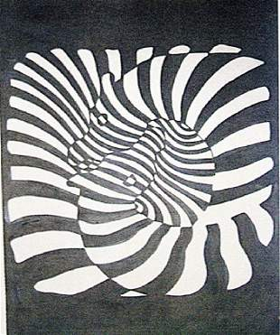 Victor Vasarely Untitled