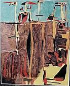 Sentados Personajes Joan Miro Lithograph