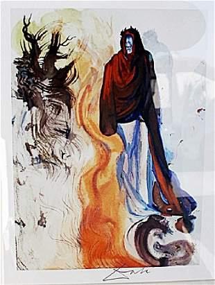 The Waterfall of the Phlegethon - Salvador Dali -