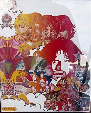 Audio DNA - Peter Max - Lithograph