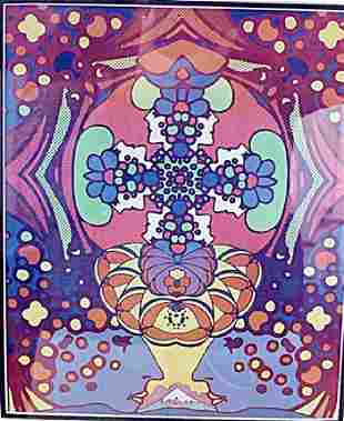 2000 Light Years - Peter Max - Lithograph