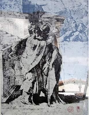 Visitation Parmigianino Etching
