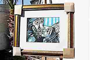 The Kiss In the style of Picasso Limited Edition