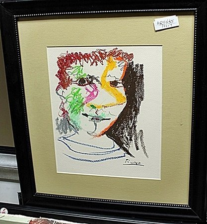 Limited Edition Picasso Untitled AR5435