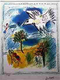 """By Chagall """"Grand Coriche"""" Ltd. Ed. Lithograph (2016)"""