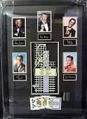 """Framed """"Celebrity Memorabilia-Las Vegas"""""""