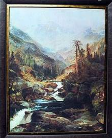 Framed By Moran-Mountain of the Holy Cross (22FO)