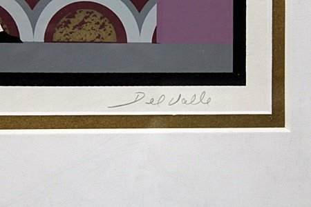 By Picasso Ltd. Ed. Lithograph in colors (2006)