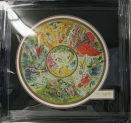 Circle of Life BY Marc Chagall(4H)