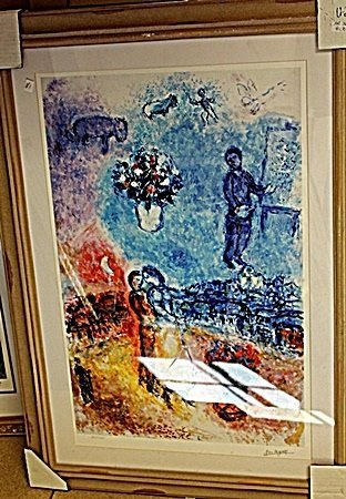 Lithograph by Marc Chagall AR5091