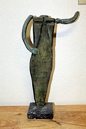 BRONZE SCULPTURE AFTER RUFINO TAMAYO (114T)