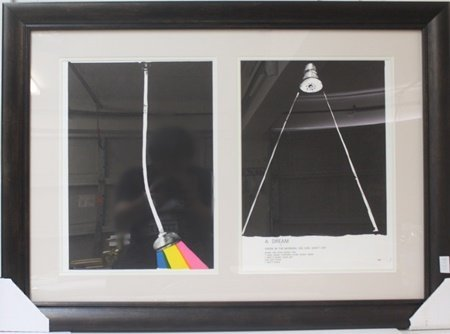 2-in-1 Framed Lithograph after Jim Dine