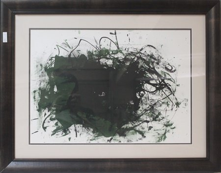 Framed Lithograph after Joan Mitchell