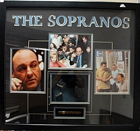 Framed  The Sopranos Memorabilia (43CO)
