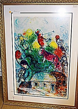 Lithograph by Marc Chagall AR5086