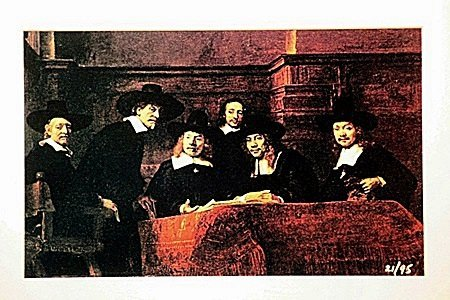 Rembrandt  Limited Edition - Masters of the Cloth Guild