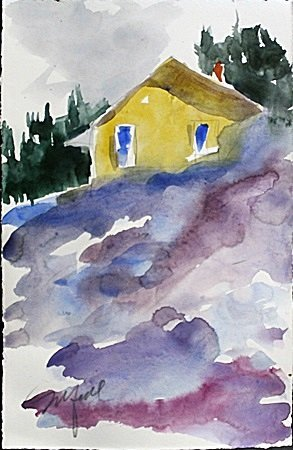 Original Watercolor Painting by Michael Schofield