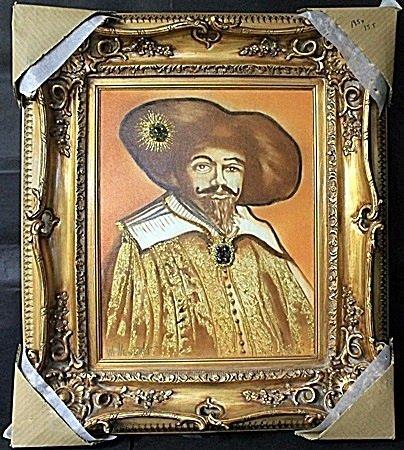 "Original Oil on Canvas ""Duke of Cycloperia"" by William"
