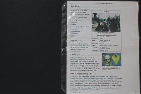 Framed Set - Jim Dine Lithographs - 4