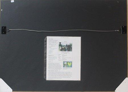 Framed Set - Jim Dine Lithographs - 5