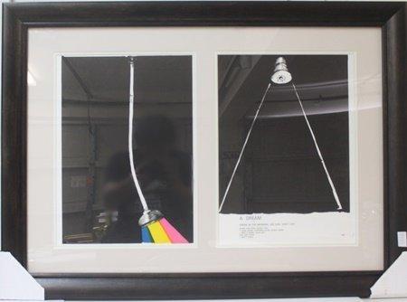 Framed Set - Jim Dine Lithographs
