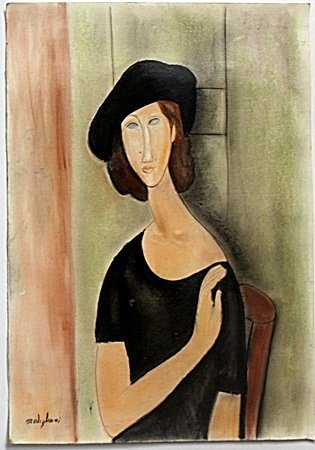 Pastel on Paper by Amadeo Modigliani