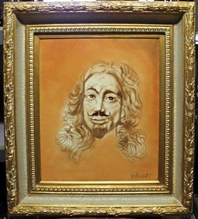 """Earl"" Original Oil Painting By William Verdult"